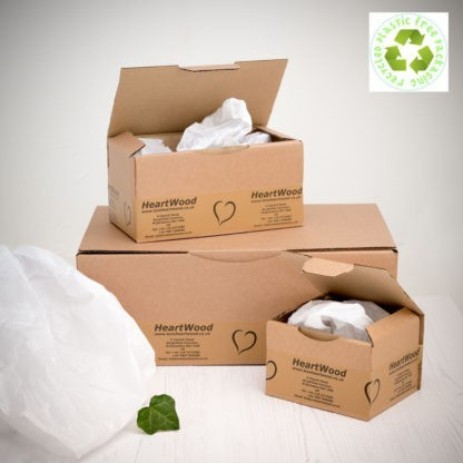 recycled and recyclable postal packaging
