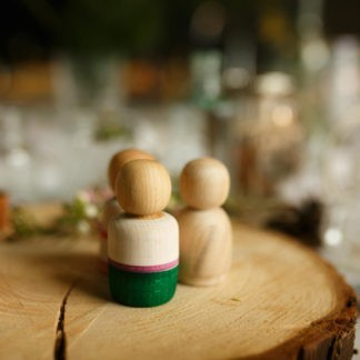 wedding peg dolls