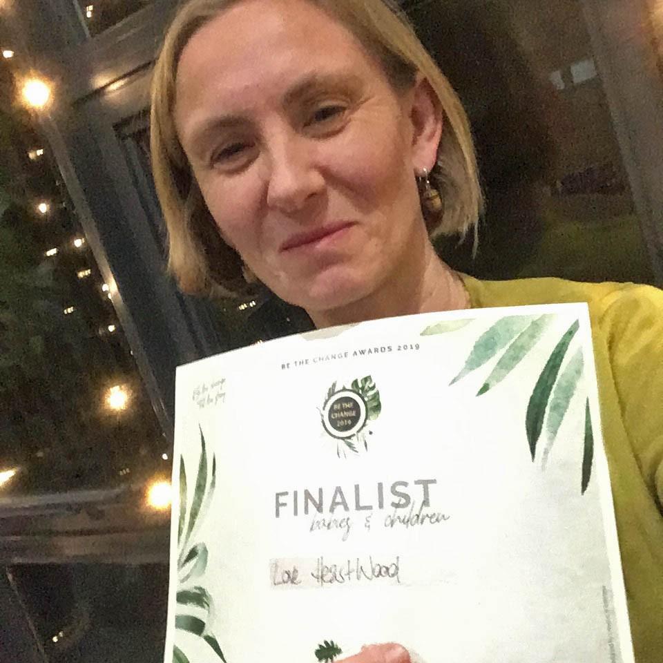 Liz Pearson be the change finalist 2019