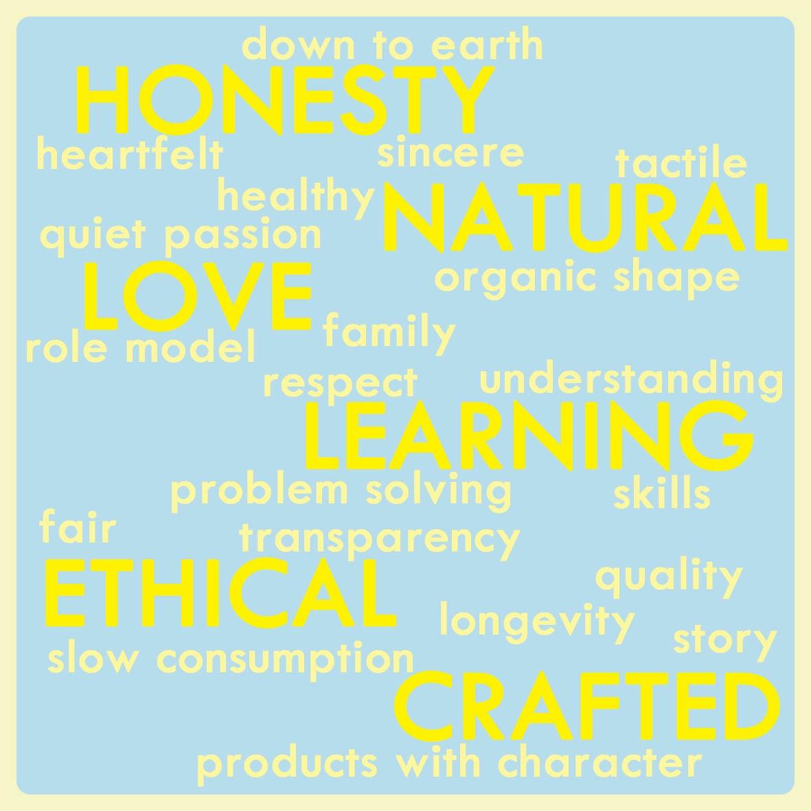 Love heartwood values