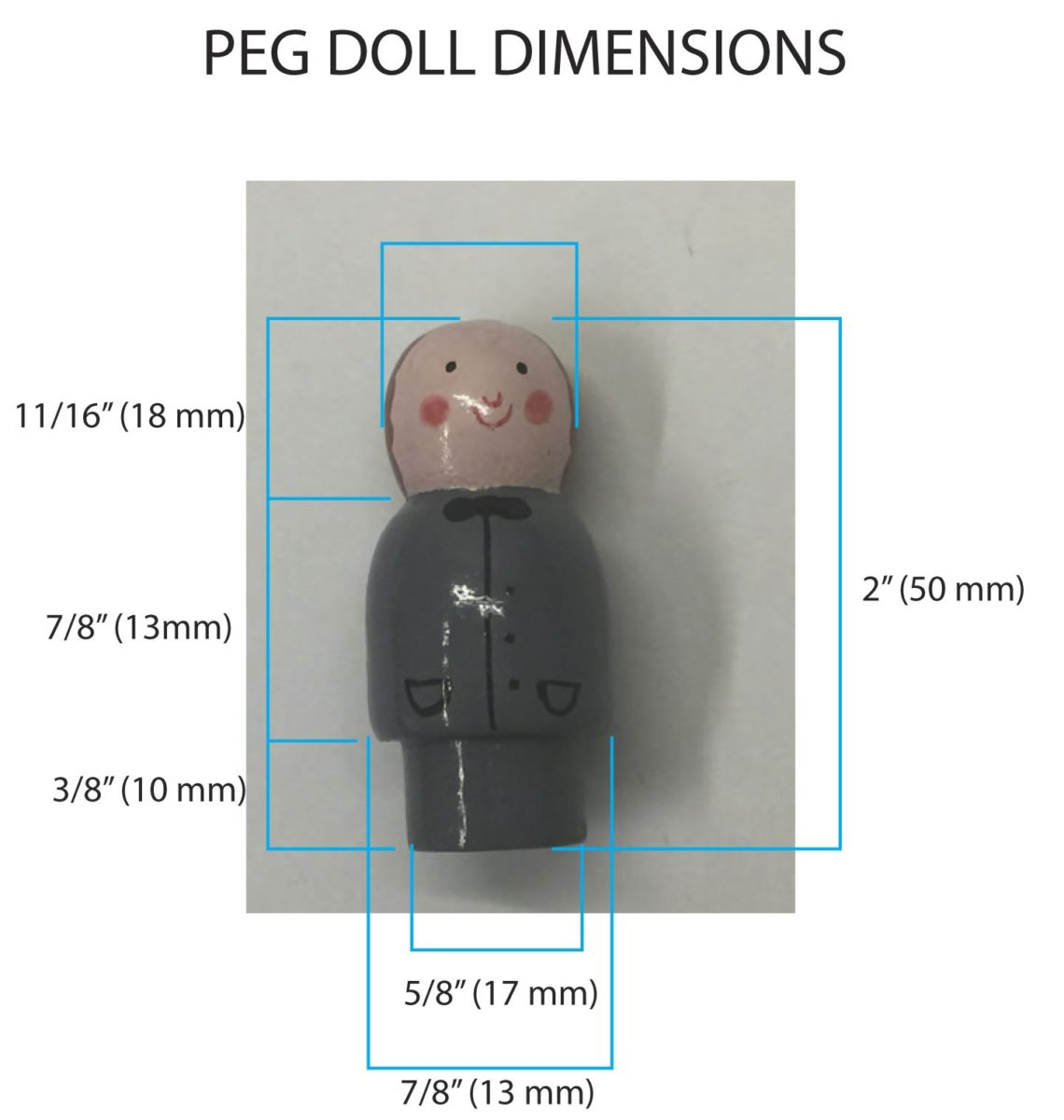 replacement peg doll
