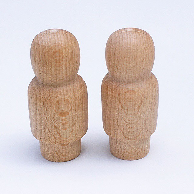 replacement wooden peg dolls