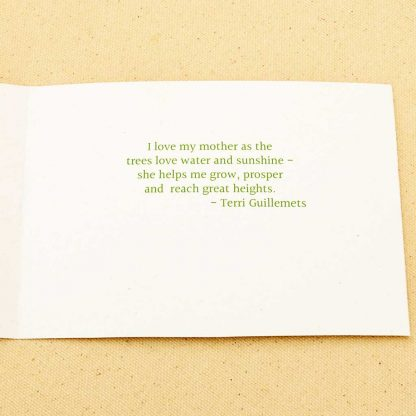 mother's day card verse