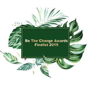 Be the Change awards finalist