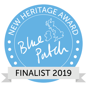 blue patch new heritage award finalist 2019