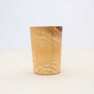side cup wooden cup