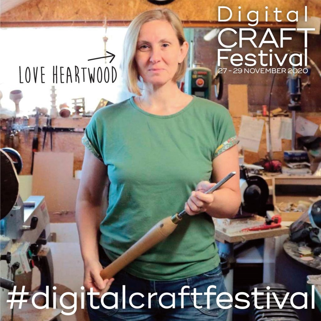digital craft festival portrait of Liz Pearson