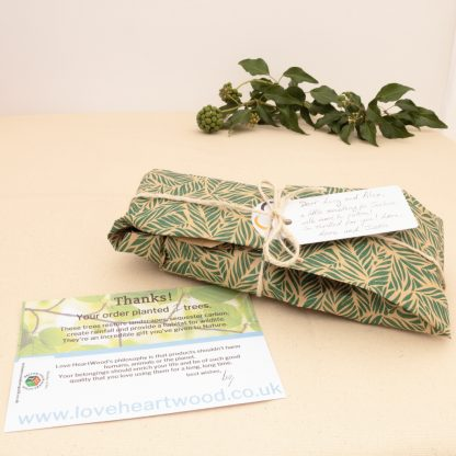 gift wrapping service love heartwood