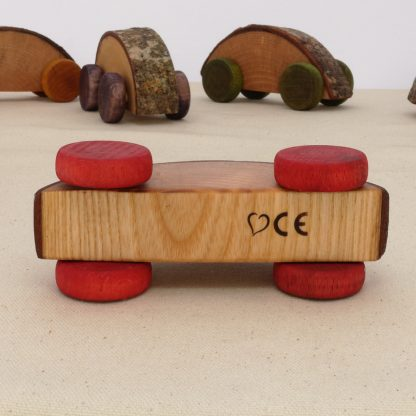 handmade wooden toy cars