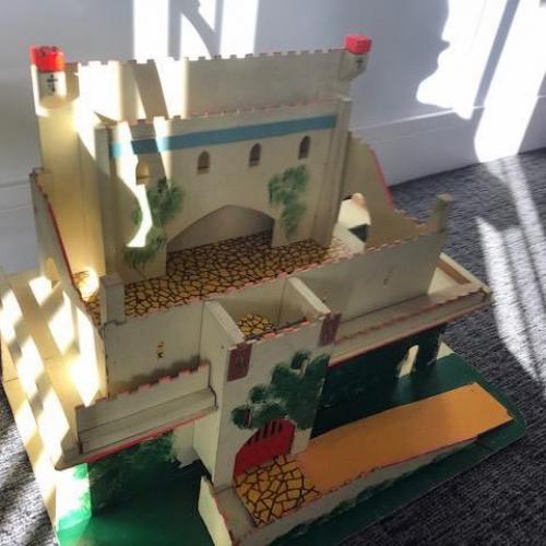 wooden castle repair