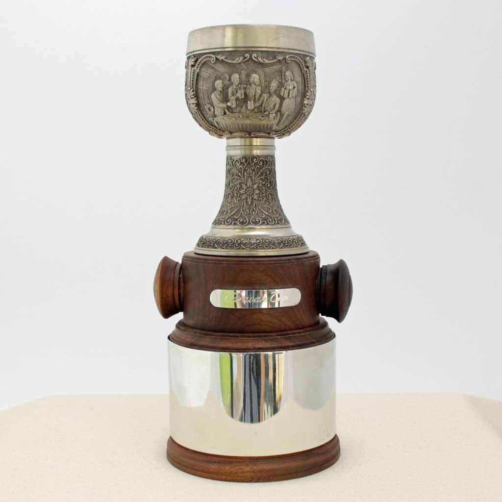 Handmade Custom Golf Trophy